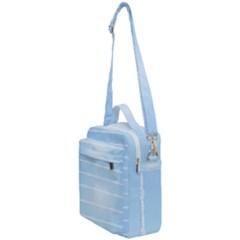 Pastel In Blue Crossbody Day Bag