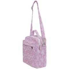 Romantic Little Flowers In Pink Crossbody Day Bag