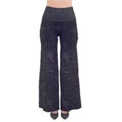 Romantic Black Flowers So Vintage Palazzo Pants by TimelessFashion