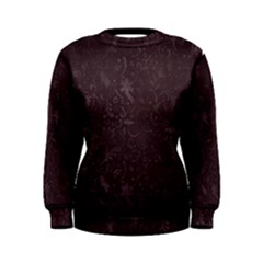 Romantic Red Flowers Women s Sweatshirt by TimelessFashion