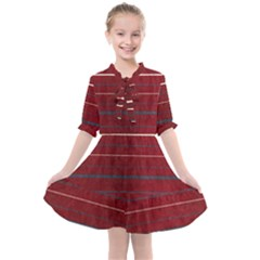 Red Passion Kids  All Frills Chiffon Dress by TimelessFashion