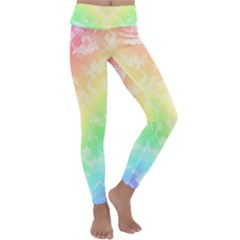 Rainbow Desire Kids  Lightweight Velour Classic Yoga Leggings