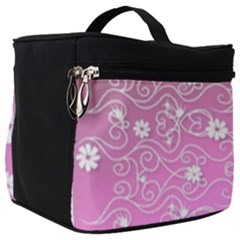 Sweet Flowers In Pink Make Up Travel Bag (big) by TimelessFashion