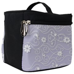 Sweet Flowers In Purple Make Up Travel Bag (big) by TimelessFashion