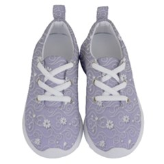 Sweet Flowers In Purple Running Shoes by TimelessFashion