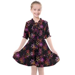 Disco Of Stars Kids  All Frills Chiffon Dress by TimelessFashion