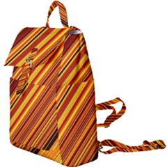 Diagonal Stripes 1 Buckle Everyday Backpack