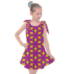 Flower Power Kids  Tie Up Tunic Dress by TimelessFashion