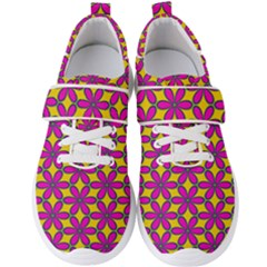 Flower Power Men s Velcro Strap Shoes by TimelessFashion