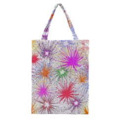 Fireworks Classic Tote Bag by TimelessFashion