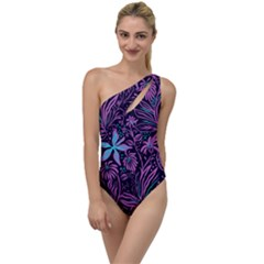 Garden Style To One Side Swimsuit by TimelessFashion
