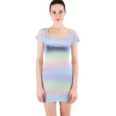 Pastel Fever Short Sleeve Bodycon Dress by TimelessFashion