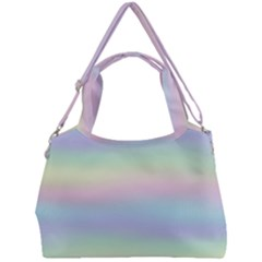 Pastel Fever Double Compartment Shoulder Bag by TimelessFashion