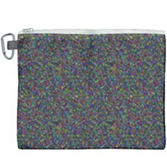Rainbow Dots Canvas Cosmetic Bag (xxxl) by TimelessFashion