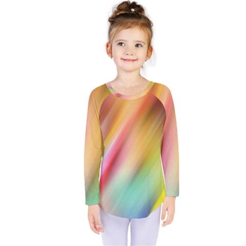 Mystery In Color Kids  Long Sleeve Tee by TimelessFashion