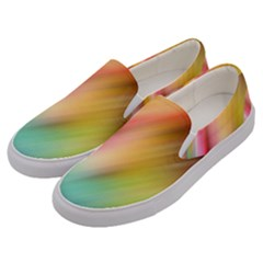 Mystery In Color Men s Canvas Slip Ons by TimelessFashion