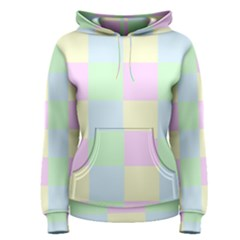 Pastel Blocks Women s Pullover Hoodie by TimelessFashion
