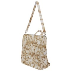 Marble Effect Crossbody Backpack by TimelessFashion