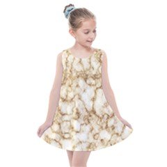 Marble Effect Kids  Summer Dress by TimelessFashion