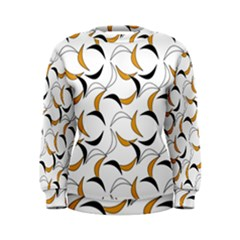Simply Retro Orange Women s Sweatshirt by TimelessFashion