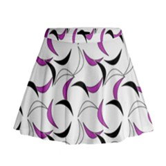 Simply Retro Pink Mini Flare Skirt by TimelessFashion