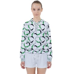 Simply Retro Green Women s Tie Up Sweat by TimelessFashion