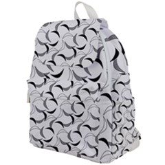 Simply Retro Grey Top Flap Backpack
