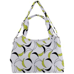 Simply Retro Yellow Double Compartment Shoulder Bag by TimelessFashion