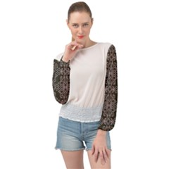 Timeless! Banded Bottom Chiffon Top by TimelessFashion