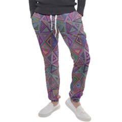 Triangle Chaos Men s Jogger Sweatpants by TimelessFashion