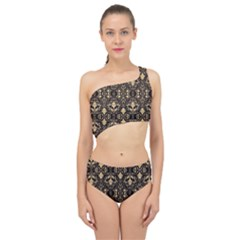 Vintage Look  Spliced Up Two Piece Swimsuit by TimelessFashion
