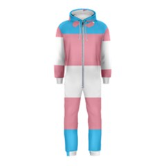 Transgender Pride Flag Hooded Jumpsuit (kids) by lgbtnation