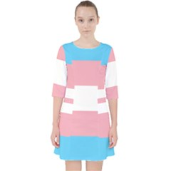 Transgender Pride Flag Pocket Dress by lgbtnation