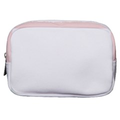 Horizontal Pinstripes In Soft Colors Make Up Pouch (small) by shawlin