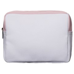 Horizontal Pinstripes In Soft Colors Make Up Pouch (large) by shawlin