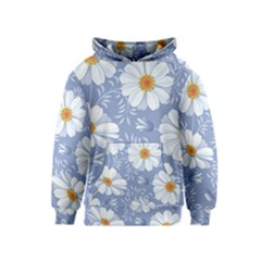 Chamomile Flowers Kids  Pullover Hoodie by goljakoff
