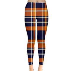 Tartan Pattern Leggings  by ArtworkByPatrick
