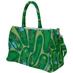 Golf Course Par Golf Course Green Copy Duffel Travel Bag