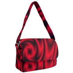 Background Red Color Swirl Courier Bag
