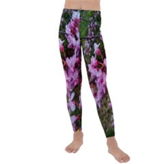 Redbud In April Kids  Lightweight Velour Leggings