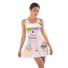Eat Cupcakes Cotton Racerback Dress by WensdaiAmbrose