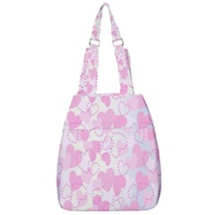 Valentine Background Hearts Bokeh Center Zip Backpack