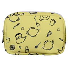 Tea Seamless Pattern Teatime Make Up Pouch (small)