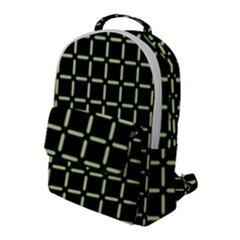 Pattern Digital Seamless Texture Flap Pocket Backpack (large)