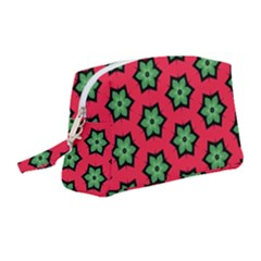 Pattern Flower Pattern Seamless Wristlet Pouch Bag (medium)