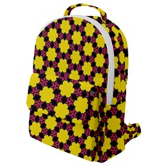 Pattern Colorful Background Texture Flap Pocket Backpack (small)