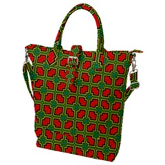 Pattern Modern Texture Seamless Buckle Top Tote Bag