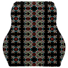 Pattern Black Background Texture Car Seat Velour Cushion
