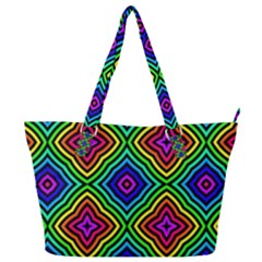 Pattern Rainbow Colors Rainbow Full Print Shoulder Bag
