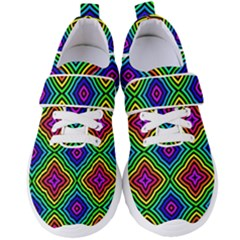 Pattern Rainbow Colors Rainbow Women s Velcro Strap Shoes by Nexatart